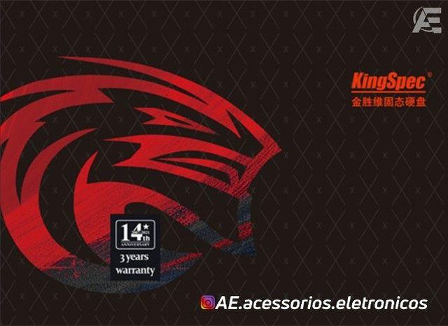 SSD 256gb kingspec - Entregamos e Aceitamos Cartões - Foto 4