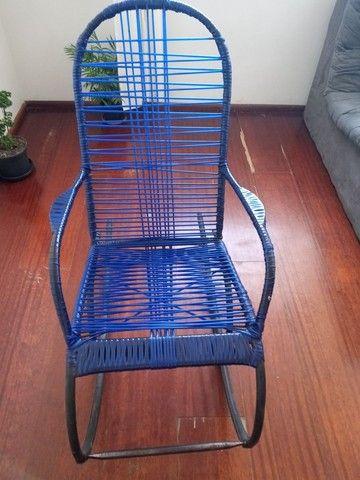 Cadeira de balanço usada - Foto 2