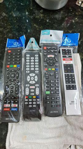 Controle de televisão smart  - Foto 2