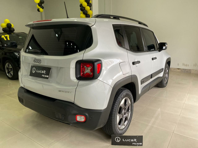 Jeep Renegade  2017-unico dono - sport motor 1.8 flex -Automático-2021 vistoriado - Foto 6
