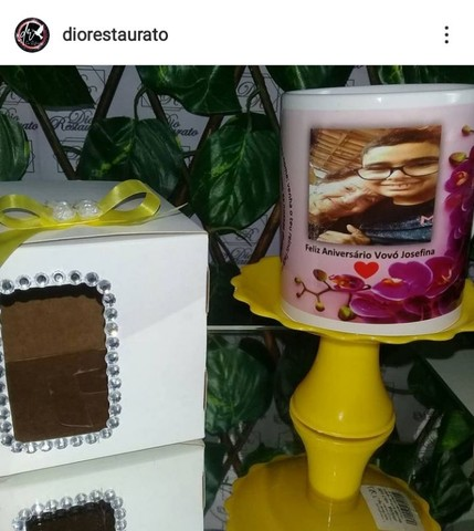 @diorestaurato, Xícara de porcelana personalizada! - Foto 6