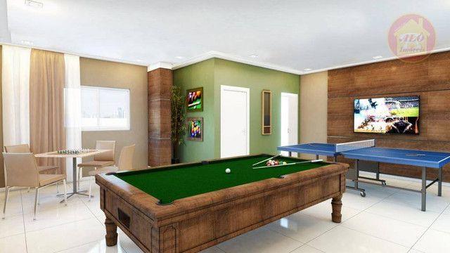 Apartamento com 2 dormitórios à venda, 68 m² por R$ 314.600 - Vila Guilhermina - Praia Gra - Foto 5