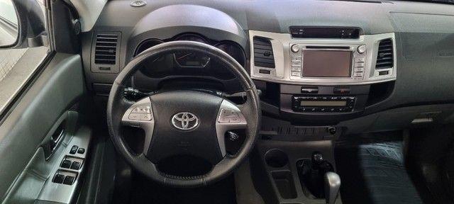 Hilux SRV 4x4 Aut. Diesel 2015 - Foto 10