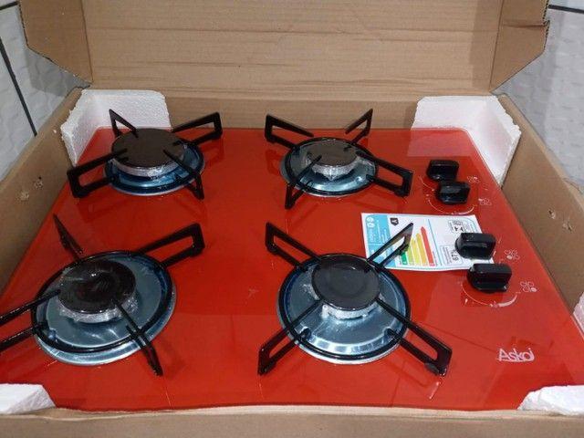Vendo fogao cooktop novo ñä caixa com balcao - Foto 4