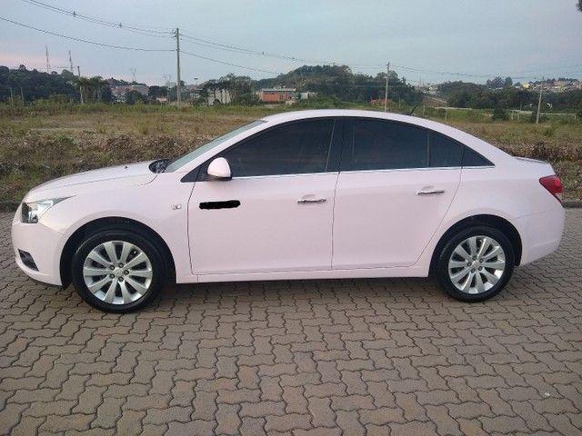 Cruze LTZ automático 2014 Único dono, raríssimo modelo na cor Rosa. - Foto 4