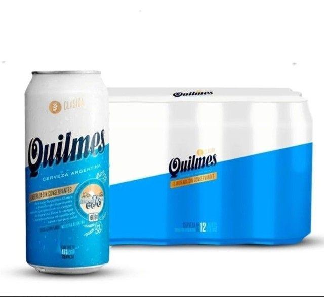 Cerveja Quilmes Lata 473ML - Foto 4