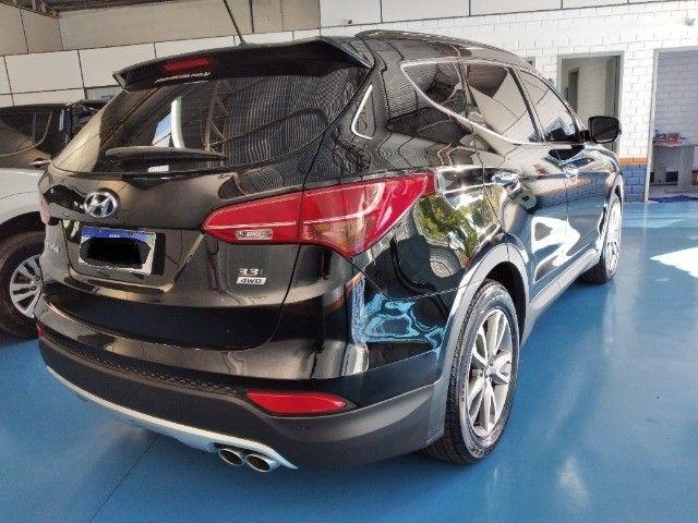 Hyundai Santafé GLS 3.3l V6 2014 - Foto 3