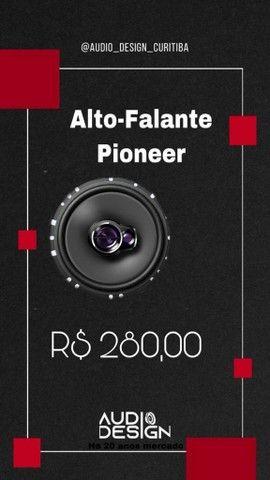 Auto Falante Pioneer 6 Polegadas Instalado
