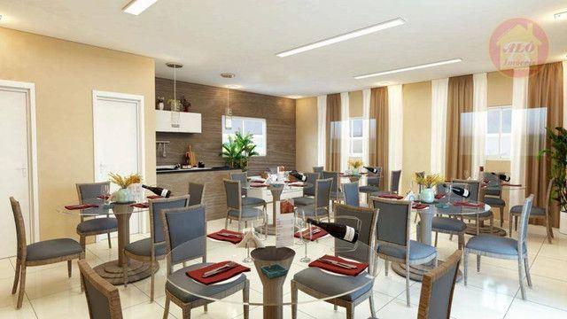 Apartamento com 2 dormitórios à venda, 68 m² por R$ 314.600 - Vila Guilhermina - Praia Gra - Foto 4
