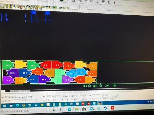 Software de CAD, (modelagem + encaixe) da marca Gerber. - Foto 2
