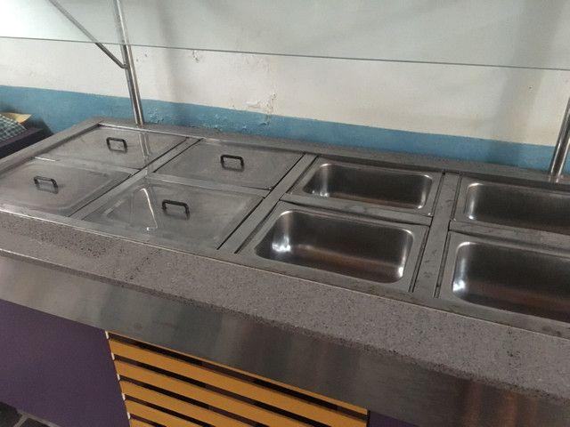 Mesa quente (para buffet/self service/restaurante) - Foto 2