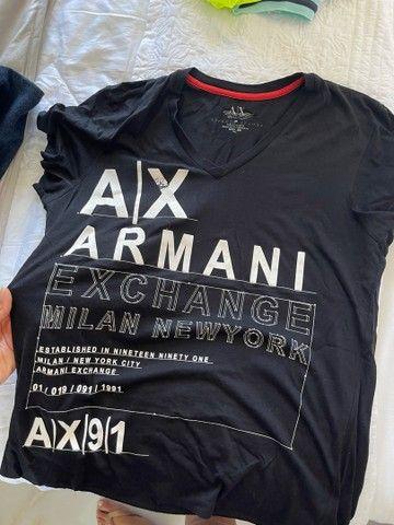Blusas armani exchange originais - Foto 3