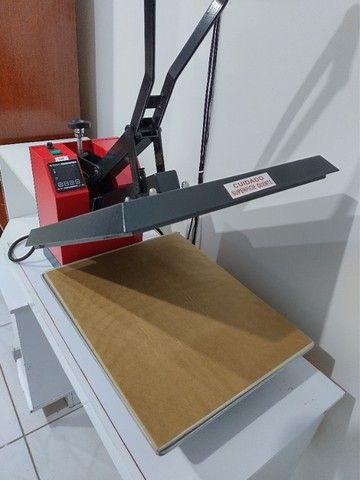 Prensa Térmica para estampar camisetas. Técnica de Sublimação. - Foto 2