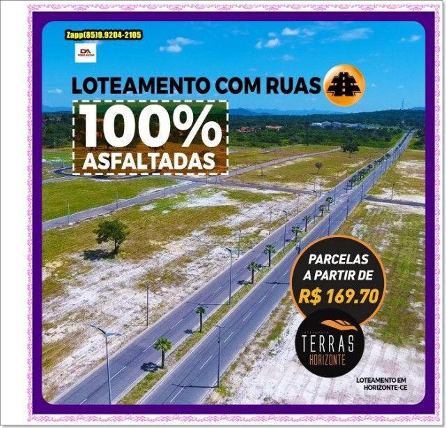 Lotes Terras Horizonte - Construção Liberada-&#$ - Foto 15