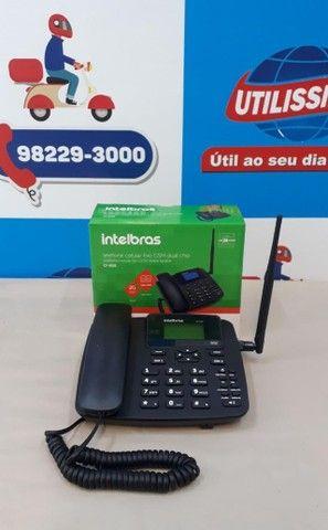 Kit Celular Rural Aquário Telefone + Cabo + Antena ? Entrega Gratis  - Foto 5