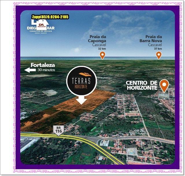 Lotes Terras Horizonte - Construção Liberada-&#$ - Foto 8
