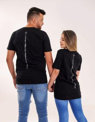 Camisas longline unissex  - Foto 2