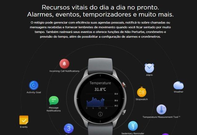 Relógio Smartwatch Amazfit gtr 2e - Foto 4