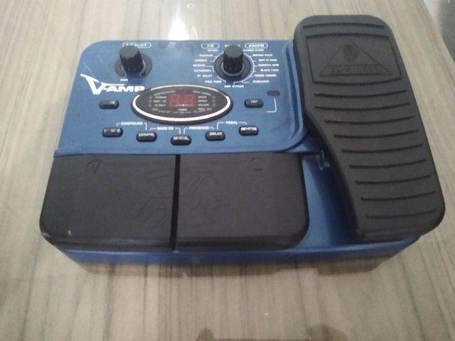 Pedaleira X V amp ( Leia o anúncio ) - Foto 3