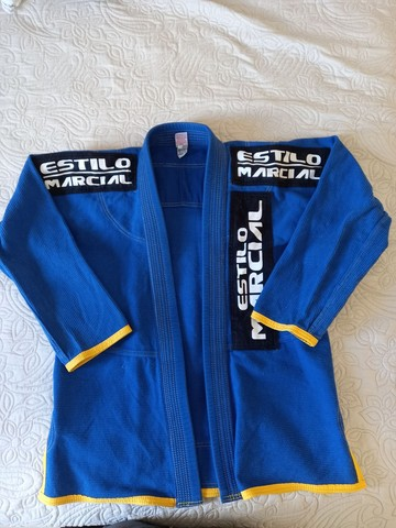 Kimono azul ( dragao )  - Foto 3