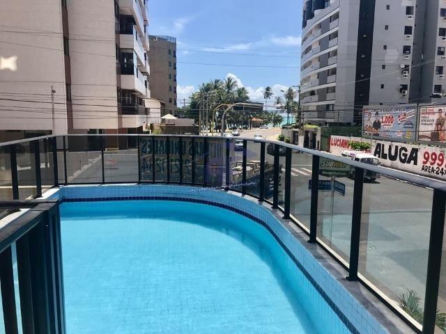 Apartamento há 200 metros da praia, novo com 3/4 vista para o mar - Edf. Palazzo Di Mare
