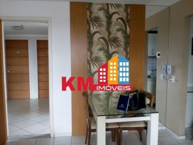 Aluga-se apartamento Semi-Mobiliado no Damião Queiroz - KM IMÓVEIS