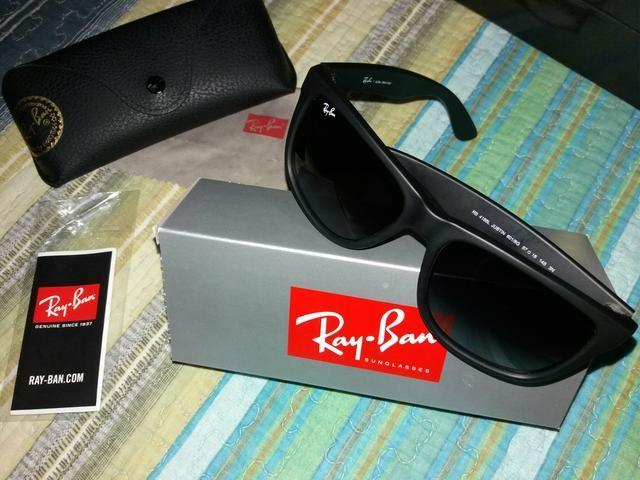 8d1b25892e368 Óculos de Sol Ray Ban Original Novo (Nunca Usado) Modelo JUSTIN ...