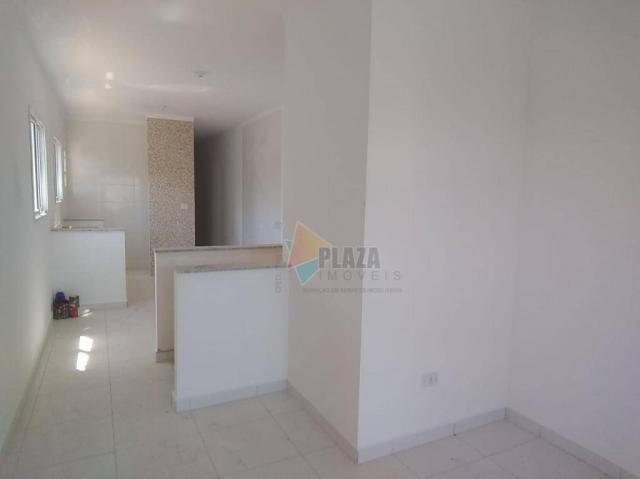 Casa à venda, 55 m² por R$ 210.000,00 - Vila Caiçara - Praia Grande/SP - Foto 4