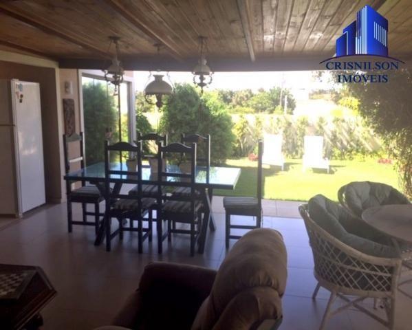Casa à venda alphaville ii salvador, r$ 1.350.000,00, excelente casa térrea com jardim, am - Foto 8