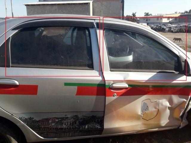 Vidro Porta Dianteira ou traseiro Toyota Etios