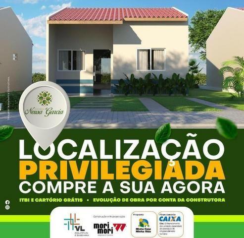 Casa com Sinal de 5 mil - Mensais a partir de 359 reais e descontos que chegam a 31 mil