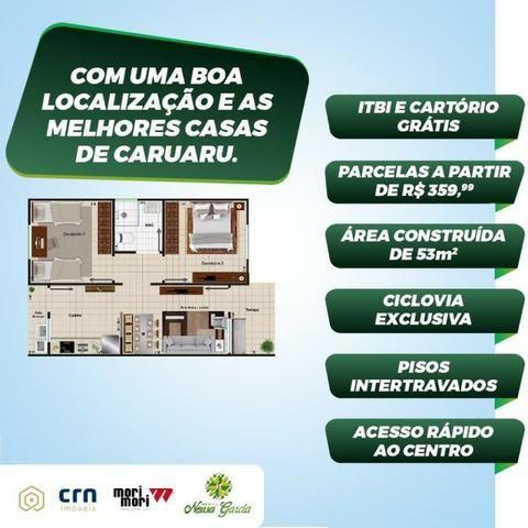 Casa com Sinal de 5 mil - Mensais a partir de 359 reais e descontos que chegam a 31 mil - Foto 2