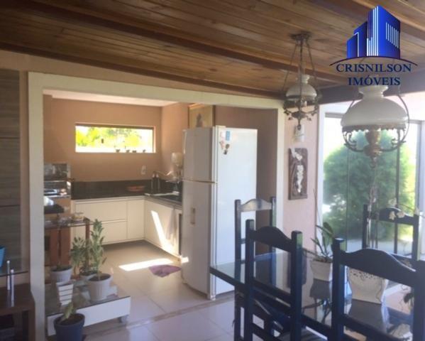 Casa à venda alphaville ii salvador, r$ 1.350.000,00, excelente casa térrea com jardim, am - Foto 17