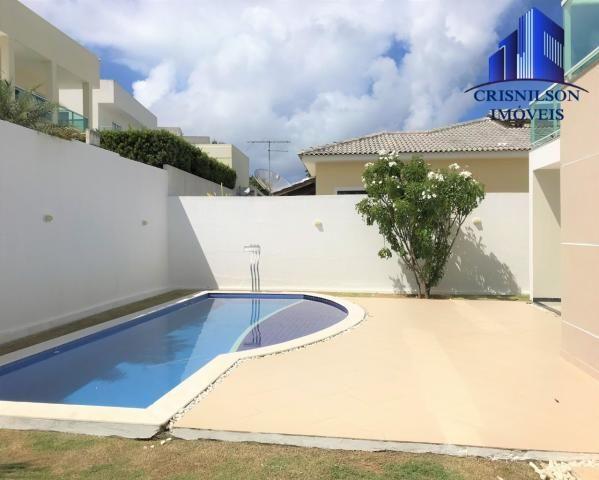 Casa à venda alphaville litoral norte i, r$ 1.400.000,00, excelente, 4 suítes, piscina nov - Foto 5