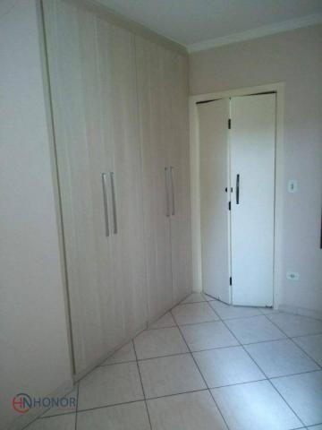 Apartamento com 3 dormitórios à venda, 90 m² por r$ 399.000 - parque das nações - santo an - Foto 8