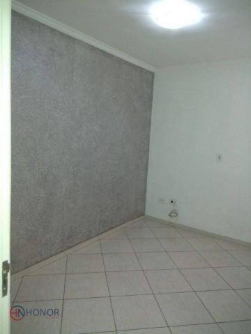 Apartamento com 3 dormitórios à venda, 90 m² por r$ 399.000 - parque das nações - santo an - Foto 16