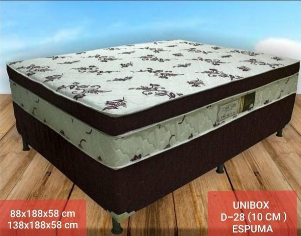 Conjunto UNIBOX SOFT PLUMA Alt.58(Entrega Grátis)CASAL E SOLTEIRO