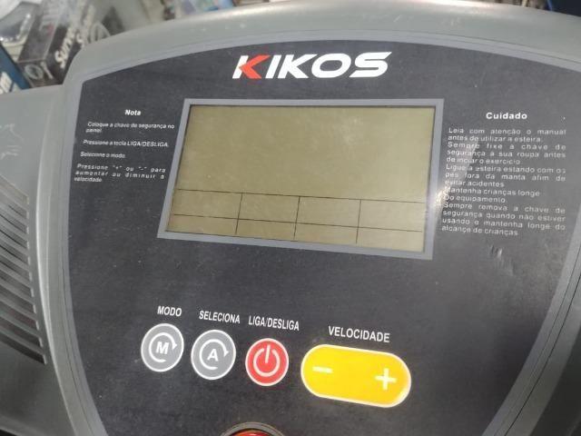 Esteira E800 Kikos 220 volts Deluxe - Foto 2