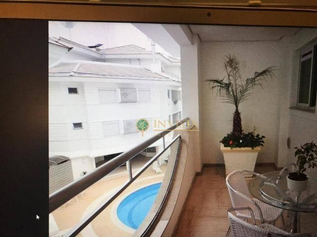 Amplo apartamento de 3 dormitórios sendo 2 suítes no Jurerê Internacional - Foto 3