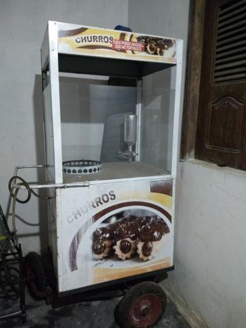 Vendo carrinho de churros R$1.400,00 - Foto 3