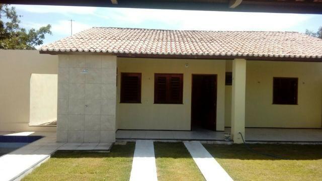Casa amplo deck piscina 3 suites centro paracuru - Foto 7