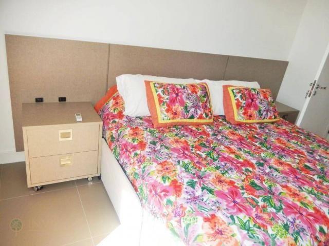 Apartamento mobiliado na praia de jurerê internacional - Foto 12