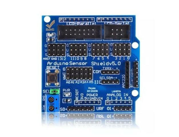 COD-AM146 Módulo Sensor Shield V5.0 Arduino Automação Robotica - Foto 3