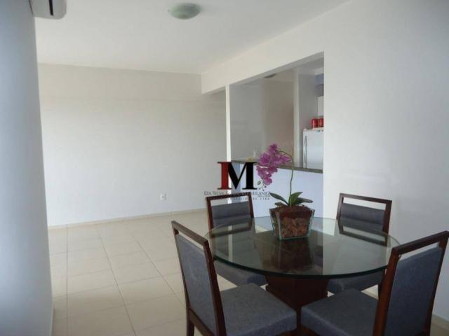 Alugamos apartamento semi mobiliado com 3 quartos em excelente localização - Foto 16