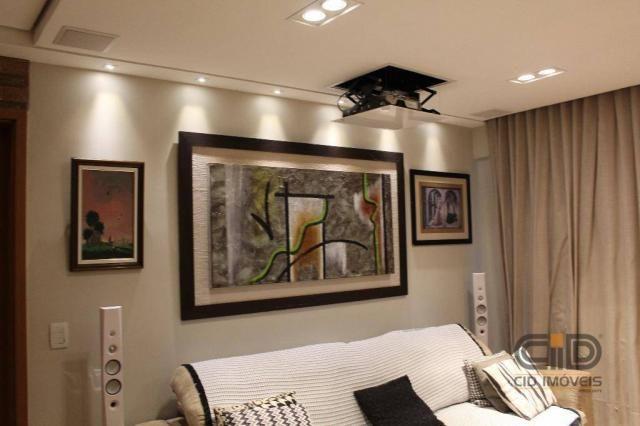 Apartamento com 4 dormitórios à venda, 141 m² por r$ 750.000 - jardim aclimação - cuiabá/m - Foto 12