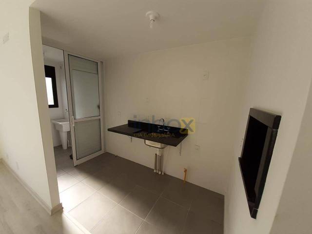 Ótimo apartamento de 1 dormitório para alugar, 42 m² por R$ 1.800/mês - Central Parque - P - Foto 4