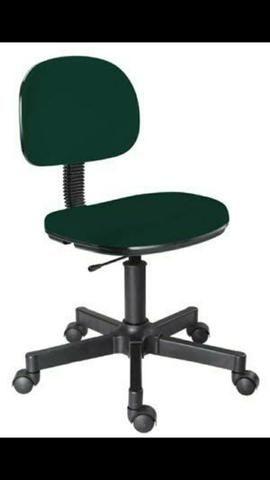 Cadeira secretaria verde , fazemos em outras cores também