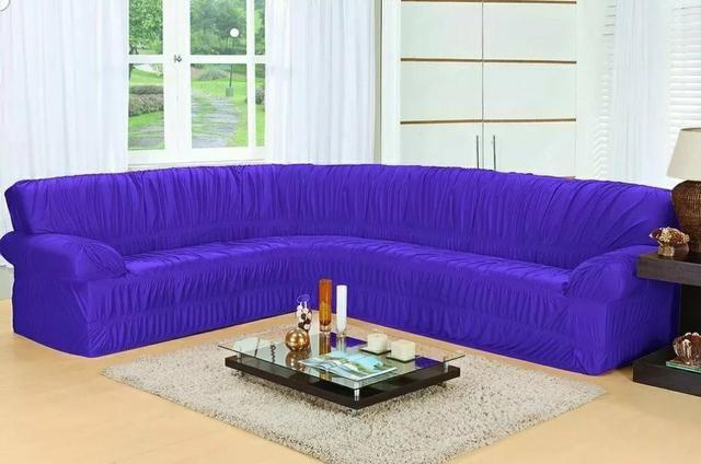 Capa capa de sofá de canto apronta entrega