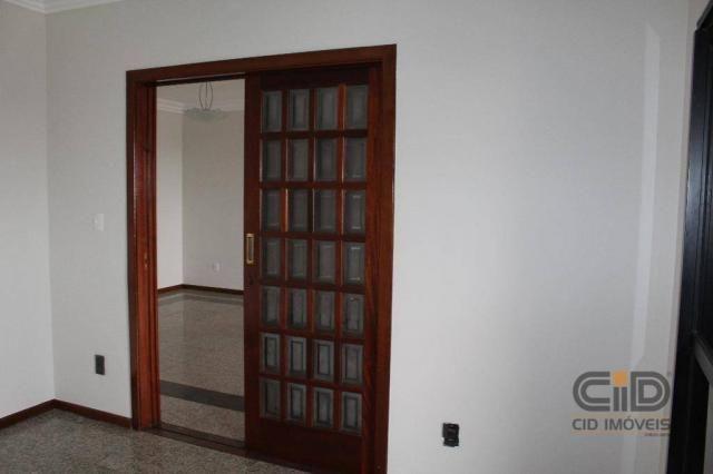 Apartamento com 3 dormitórios para alugar, 223 m² por r$ 3.500,00/mês - bosque da saúde -  - Foto 9