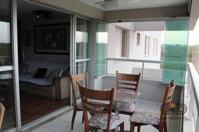 Apartamento com 4 dormitórios à venda, 141 m² por r$ 750.000 - jardim aclimação - cuiabá/m - Foto 18